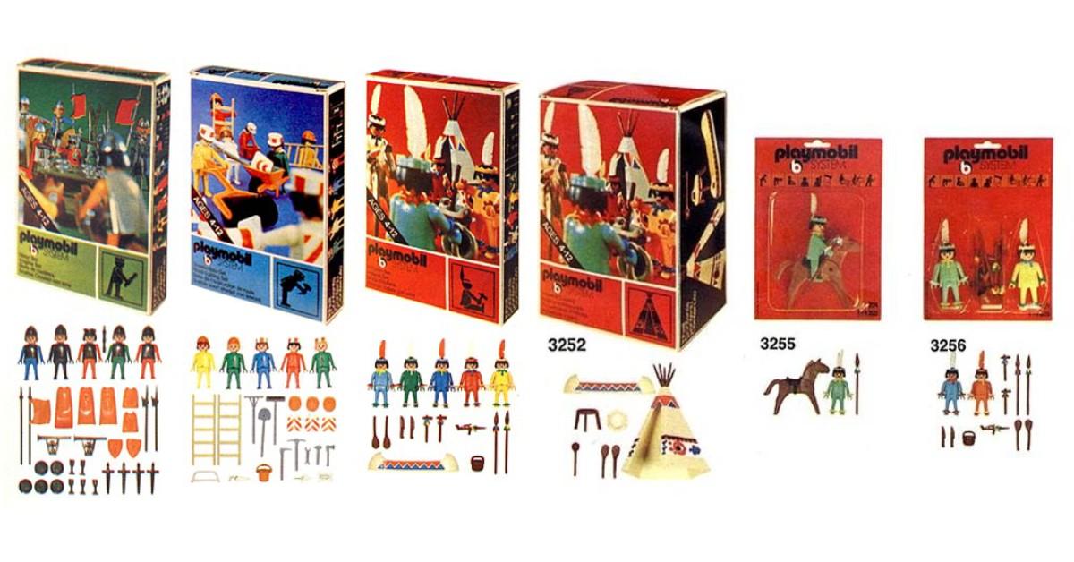 Első Playmobil szettek