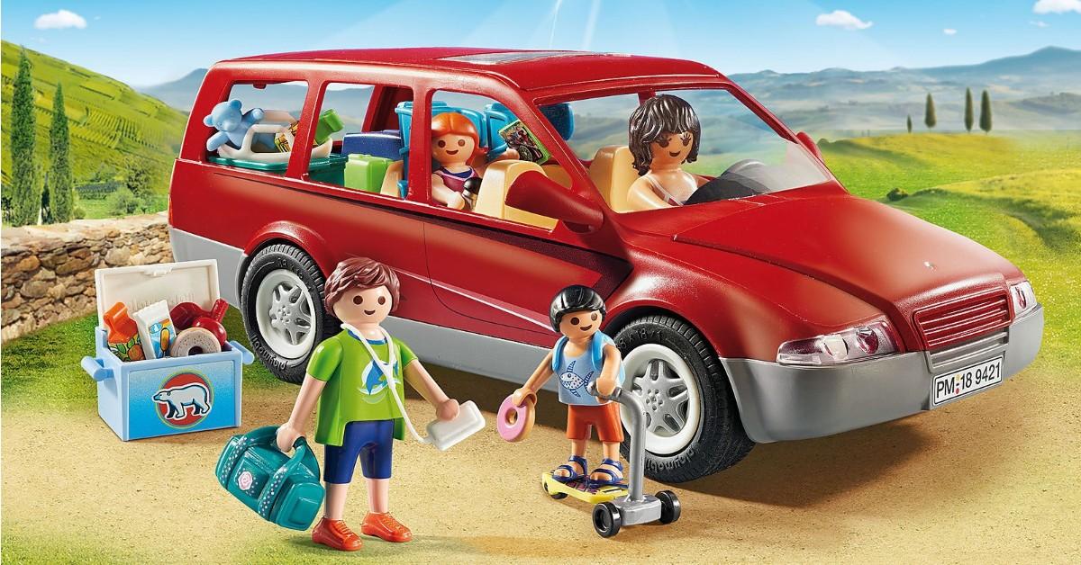 Playmobil családi autó