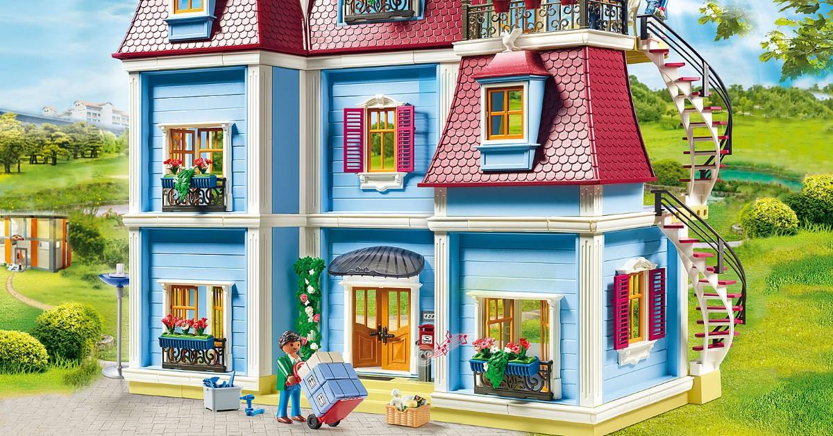 Óriás Playmobil babaház